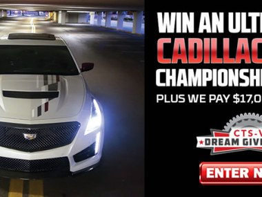 Win a 2018 CTS-V Championship Edition from Dream Giveaway!