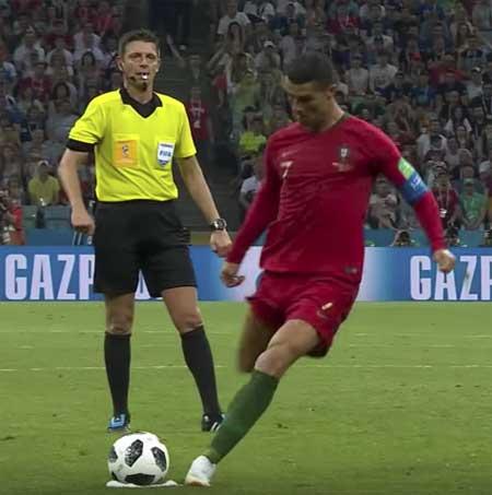 Cristiano Ronaldo Portugal Spania