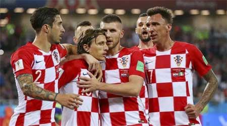 Kroatia mål Danmark