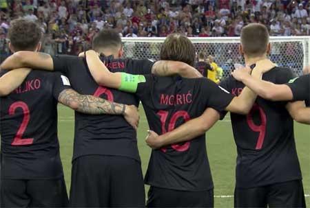 Kroatia Danmark straffekonkurranse