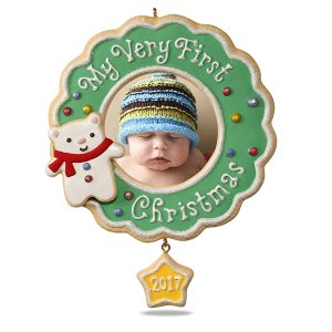 Hallmark Our First Christmas Ornament.Baby S First Christmas Ornaments Personalized With Name
