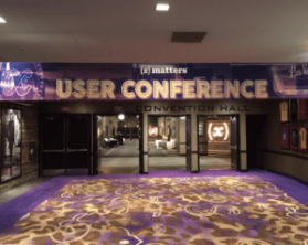 xMatters User Conference 2015 foyer