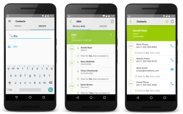 On Call Now feature in Android and iOS