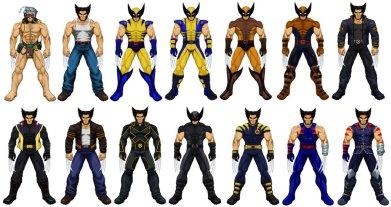 Wolverine Costume Evolution