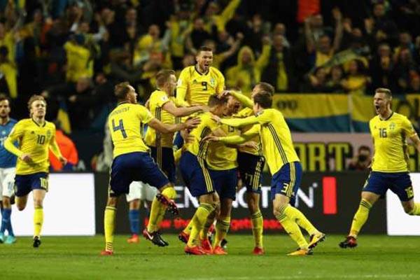Prediksi Pertandingan Sepakbola Timnas Swedia VS Timnas Denmark
