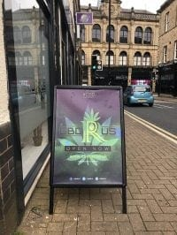 first CBD store in england
