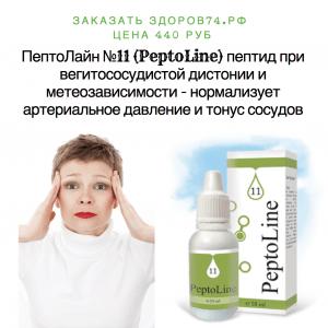 картинка Пептолайн 11 средство для нормализации давления