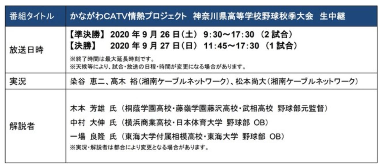 県 高校 野球 神奈川