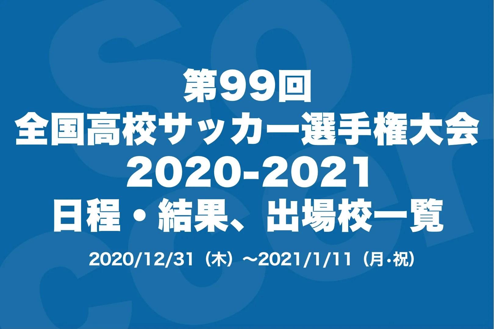 サッカー 2020 高校 速報