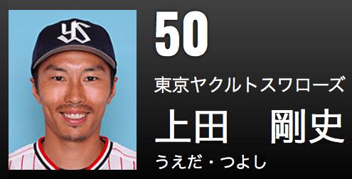上田 ヤクルト