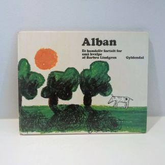 Alban - et hundeliv fortalt for små hvalpe af Barbro Lindgren