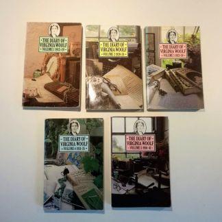 Diary of Virgina Woolf 1915 - 1941, bd. 1 - 5 af Virginia Woolf