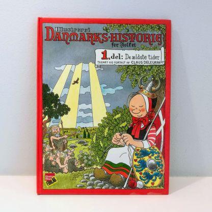 Illustreret Danmarkshistorie for folket : 1. del