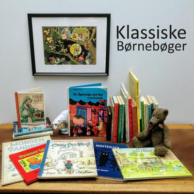 Samling af antikvariske klassiske børnebøger