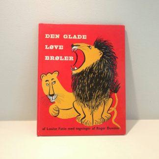 Den glade løve brøler af Louise Fatio