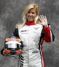 File photo of Marussia Formula One test driver Maria de Villota of Spain -0CQG4872.jpg-