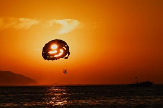 Puesta de sol con ñ de España ibiza 2