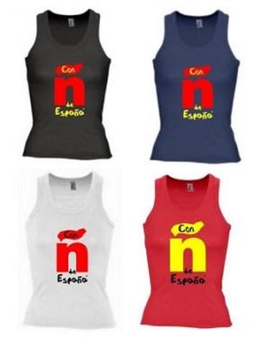 Camisetas solidarias tirantes