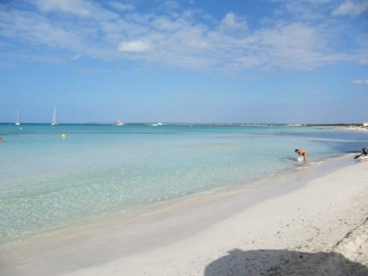 Playas Mallorca Es Trenc Con ñ de españa