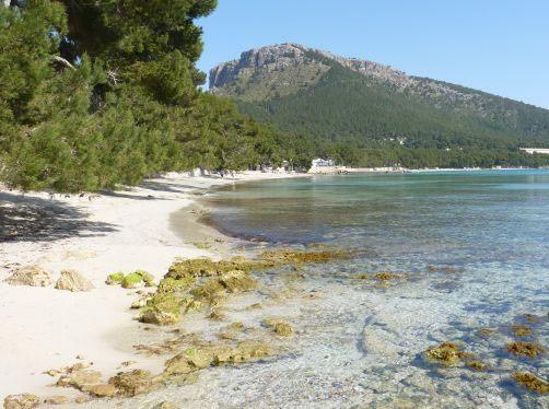 Playas Mallorca Platja de Formentor Con ñ de españa