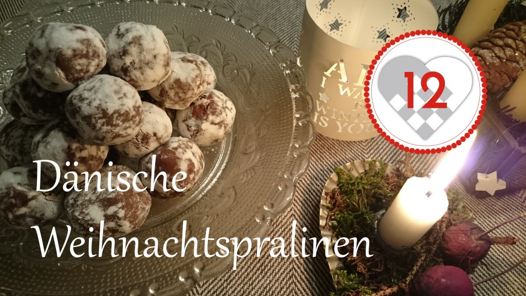 Dänische Weihnachtspralinen