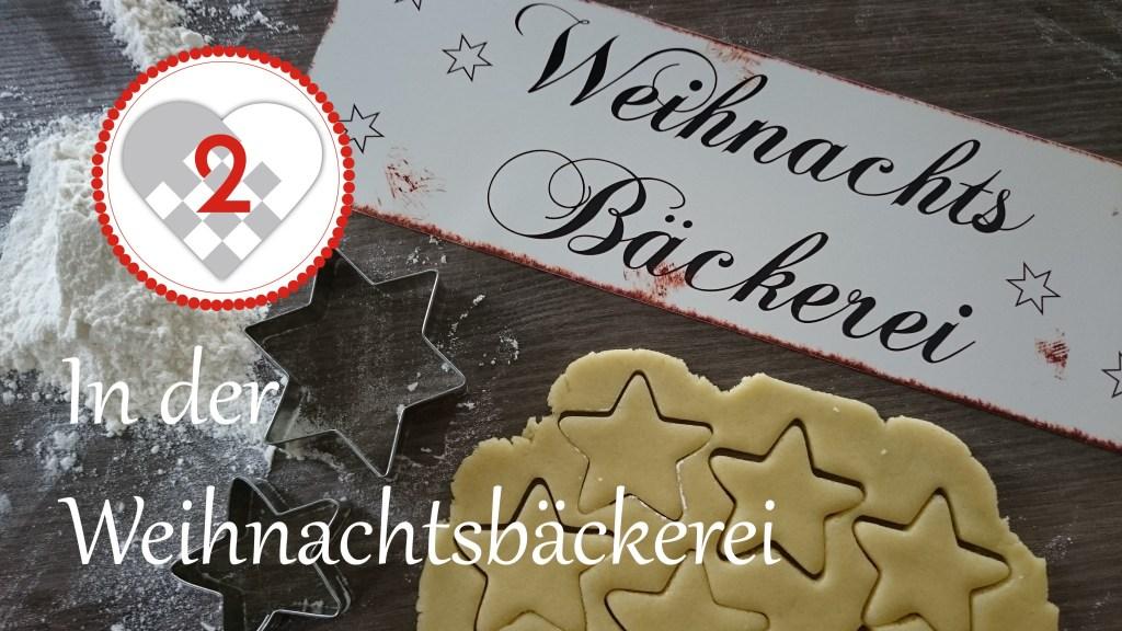 In der Weihnachtsbäckerei Titelbild