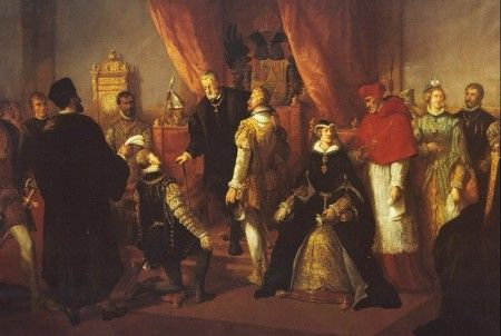 Abdicación de Carlos I