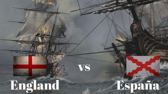 Inglaterra contra España