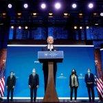 """Joe Biden dijo que con el equipo que seleccionó para la seguridad nacional su país está """"listo para liderar el mundo"""""""
