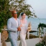 Hija de Paul Walker se casa y Vin Diesel la acompaña al altar