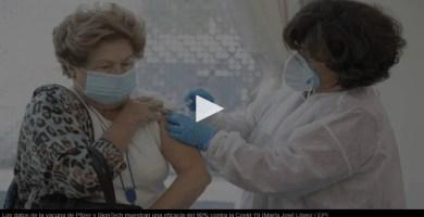 Los datos de la vacuna de Pfizer eficacia del 90% contra el Covid-19