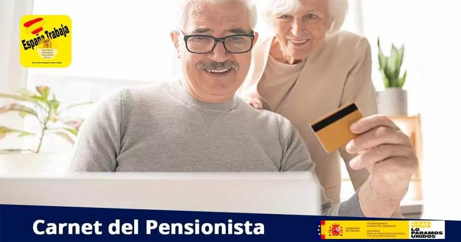 Cómo solicitar la tarjeta del pensionista en 2021