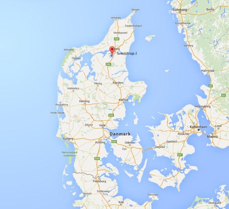 Danmarkskort