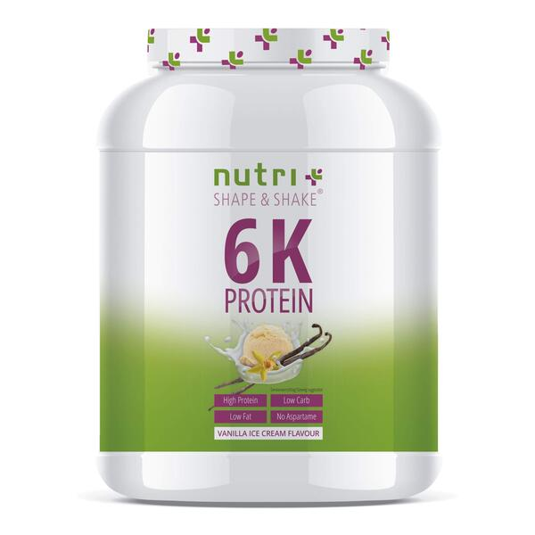 Nutri-Plus Shape & Shake Vegan 6K Protein