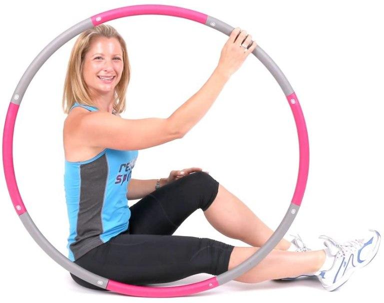 ResultSport® schaumgepolsterter Level 1 Hula Hoop Reifen