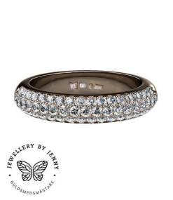 Pavéinfattade diamanter
