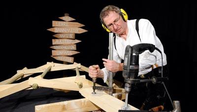 Richard Betz mit Theaterstück für Jugendliche: Hand und Herz,  Fotos vom 23.02.2015