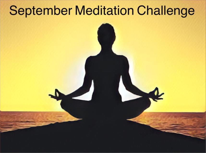 September Meditation Challenge