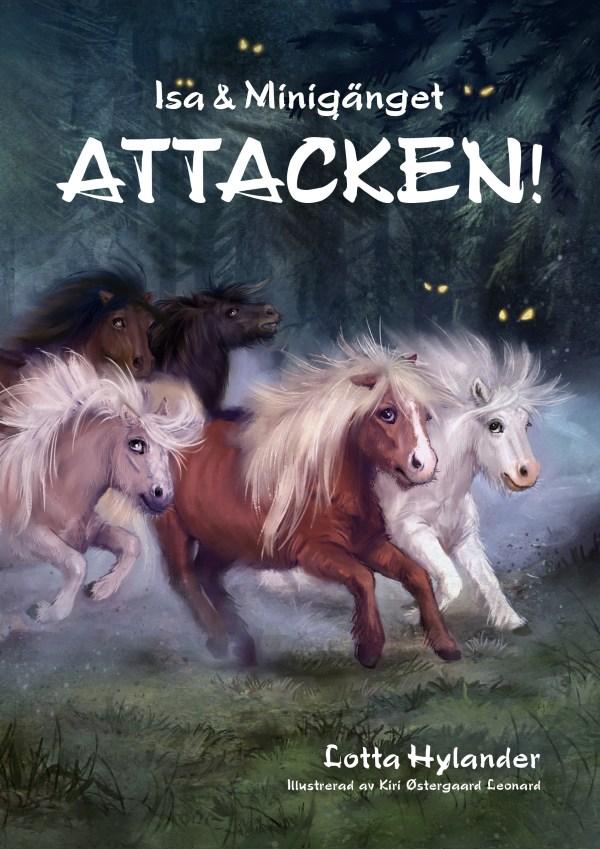 Isa och Minigänget av Lotta Hylander hästböcker för barn