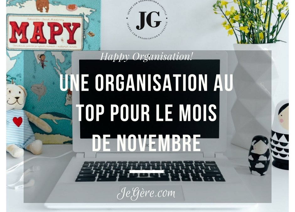 Organisation Novembre 2017
