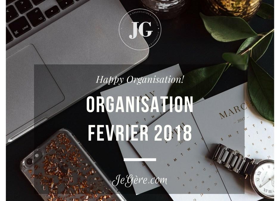 Organisation Février 2018