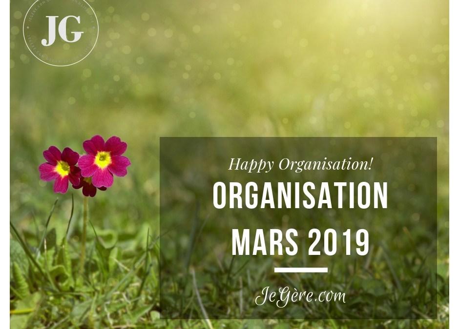 Organisation Mars 2019