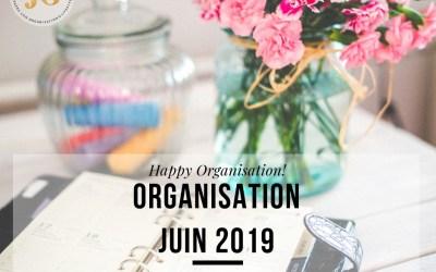 Organisation Juin 2019