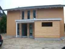 KfW 70 Haus Neubau, Lehmputz
