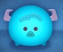 青色のツム