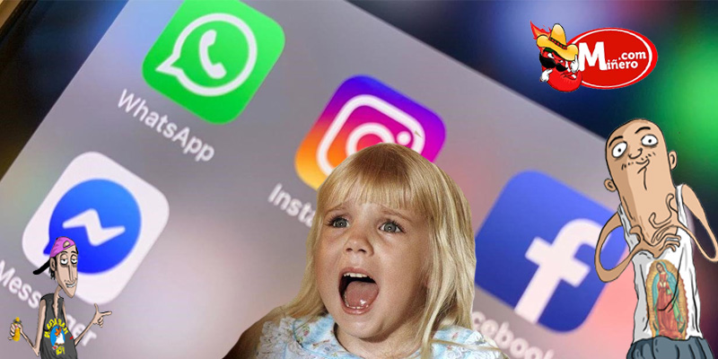 No entren en pánico, Whatsapp, Instagram y Facebook reportan terribles fallas