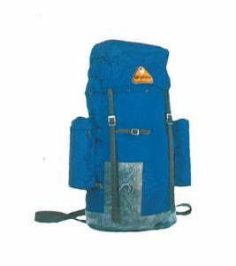 Mochila Alpina catalogo 1975 azul