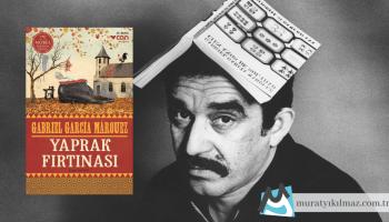 Gabriel Garcia Marquez'in ilk önemli eseri olan Yaprak Fırtınası (La Hojarasca), üç farklı kuşaktan anlatıcının bulundukları duruma dair hatırlarını ve düşüncelerini aktardıkları; ölüm, yalnızlık ve savaş temasının işlendiği çarpıcı bir yapıt.
