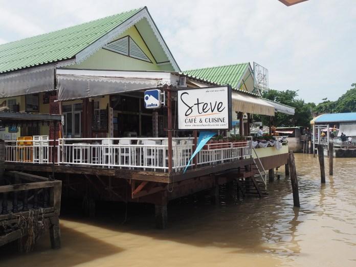 ร้าน Steve Café&Cuisine Riverside