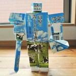 牛乳パック工作!1日でできる格納式変身ロボットの作り方